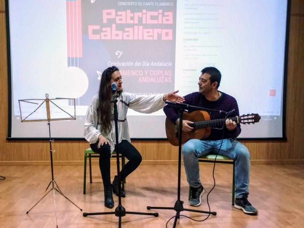 Patricia Cablallero Día de Andalucía IES Ntr. Sra. Los Remedios